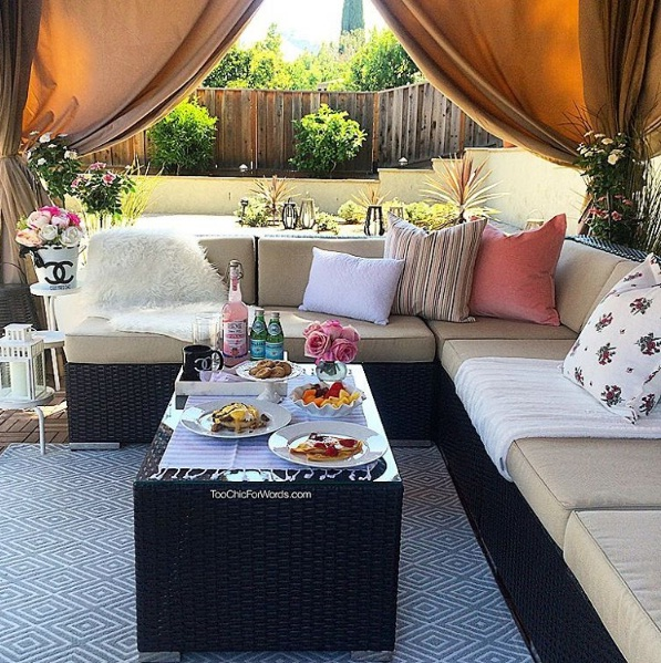 Elegant Patio Décor Fixes For Summer 2016 | LIFESTY