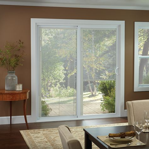 Window Treatments for Sliding Glass Doors | Sliding door blinds .