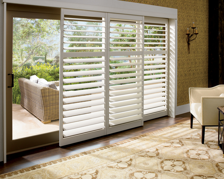 Sliding Glass Door Window Treatments | French Door Shutte