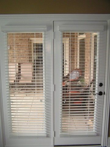 Blinds for French Doors: A way to secure and beautify your home .
