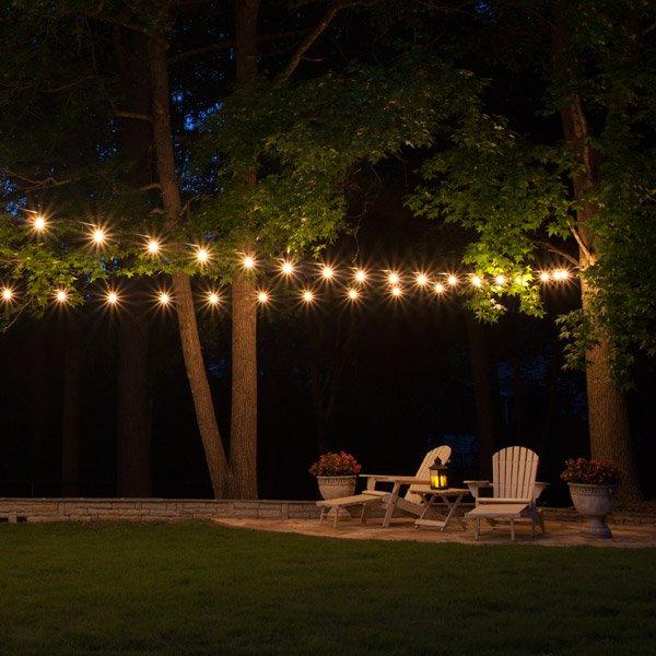 Patio String Lights - Yard En