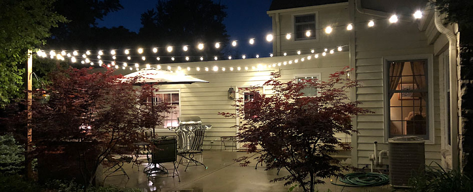 Create the Perfect Patio with Globe String Lights | Bright Ide