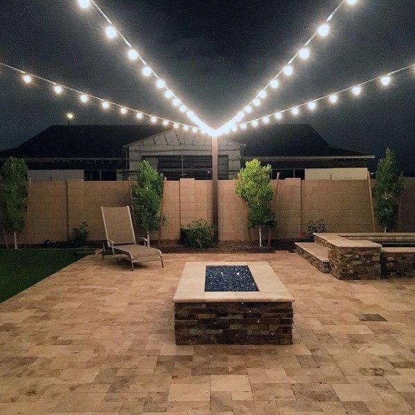 Top 40 Best Patio String Light Ideas - Outdoor Lighting Desig