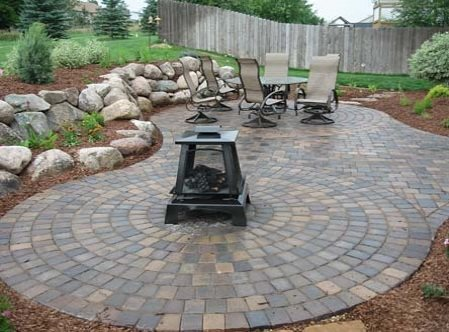 Paver Patio - Ham Lake, MN - Photo Gallery - Landscaping Netwo
