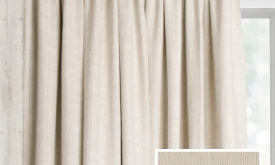 Ready Made Pencil Pleat Curtains In Austin - Loom and La