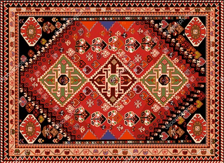 Second Life Marketplace - persian-carpet-tribal-vector-textu
