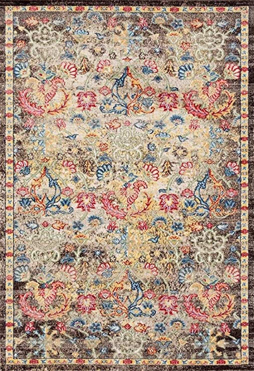 Amazon.com: Persian-Rugs Lux Weavers 2955 Multi Colored Oriental 8 .