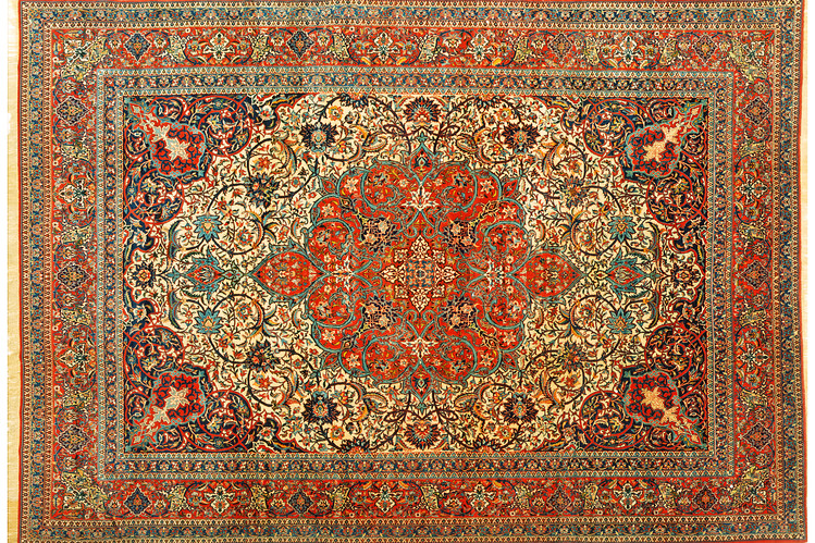 The Quest for a Perfect Persian Rug - W