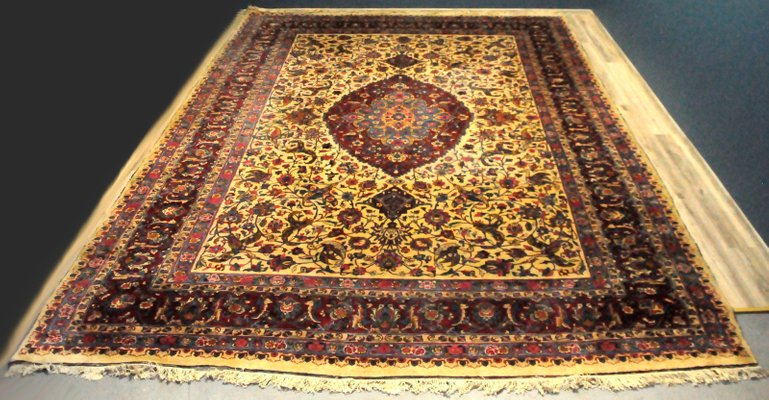 Large Persian Rug, 1960s for sale at Pamo