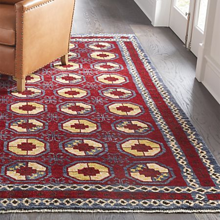 Torra Red Persian-Style Rug | Crate and Barr