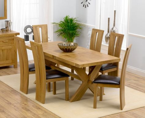 How and why to pick oak dining table and chairs | Dining table .