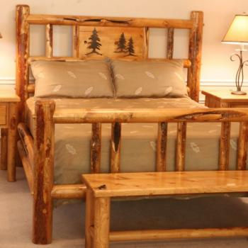 Lodge Pole Pine Furniture - Log Furniture - Furnitu