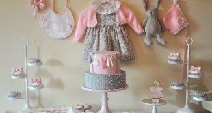 Pink & Gray Baby Shower {Ideas, Decor, Favors, Planning}   Grey .
