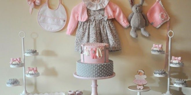 Pink & Gray Baby Shower {Ideas, Decor, Favors, Planning} | Grey .