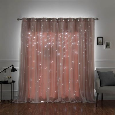 Buy Pink, 84 Inches Curtains & Drapes Online at Overstock | Our .