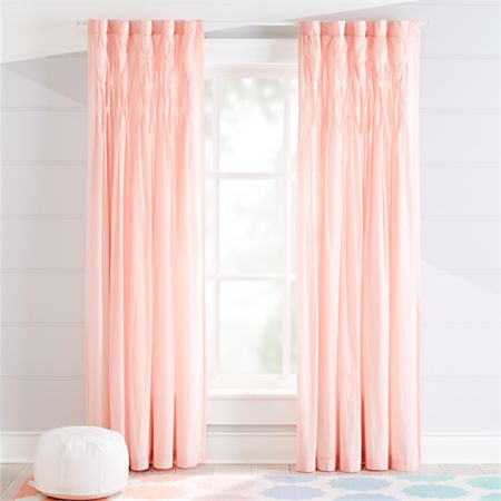 Chic Pink Curtains | Crate and Barr