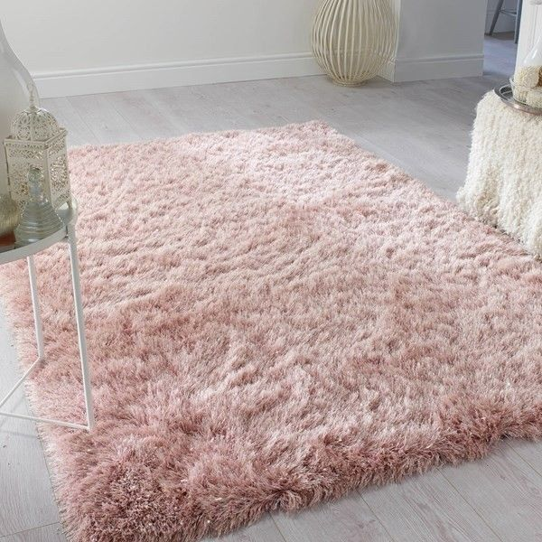 Pink fluffy rug | Pink bedroom decor, Pink room decor, Pink and .