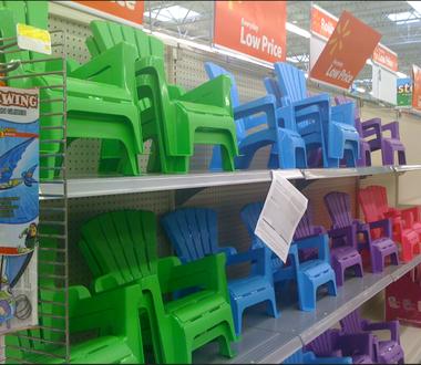 Walmart: Child Adirondack Chairs $4.97 (Plastic but cute) - al.c