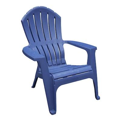 Adams Mfg Corp Stackable Plastic Stationary Adirondack Chair(s .