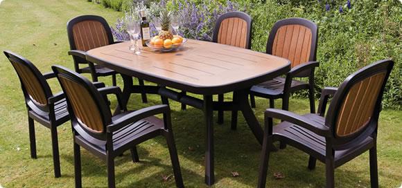 Make a Plastic Garden Table a Choice for your Garden - Decorifus