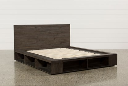 Dylan California King Platform Bed | Living Spac