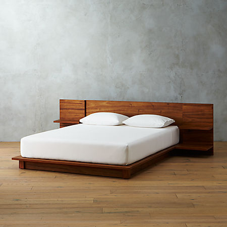 Andes Acacia Platform Bed + Reviews | C