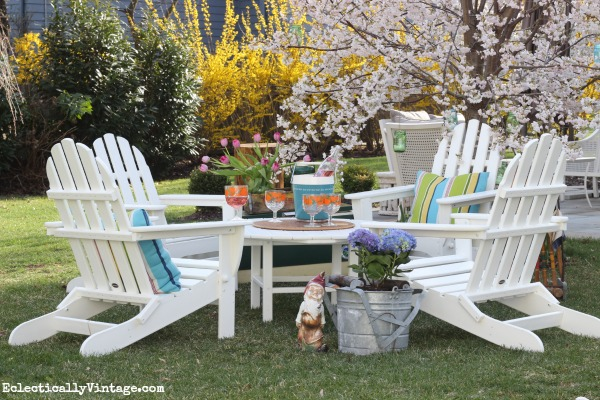 Polywood Adirondack Chairs - Earth Friendly and Built to La