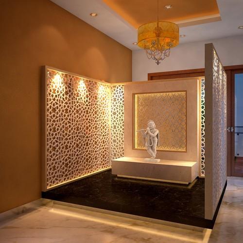 35 Serene Puja Room Desig
