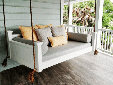 Custom Carolina Southern Savannah Swing Bed - Magnolia – Magnolia .