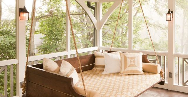 20+ Porch Swing Plans - DIY Porch Swi