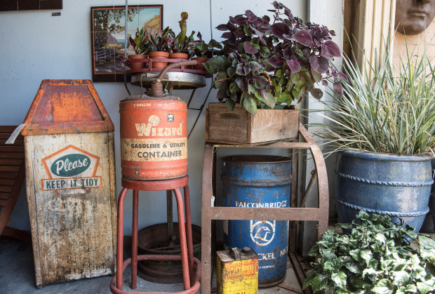 Vintage meets modern at The Potting Shed in Orange – Orange County .