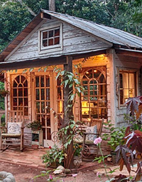 17 Unique Backyard Potting Sheds to Inspire Your 2020 Garden Li