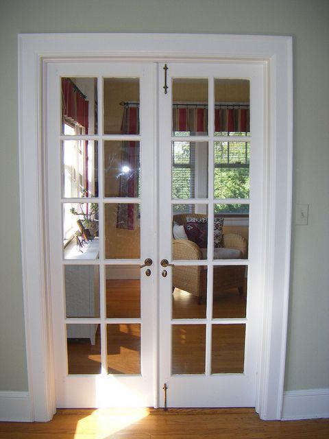 French Doors to Den | French doors bedroom, French doors, Double .