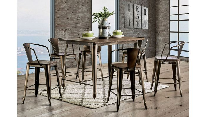 Modus Industrial Farmhouse Pub Table S