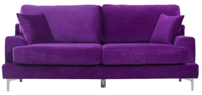 7 Beautiful Purple Sofas For Your Living Room - Cute Furnitu