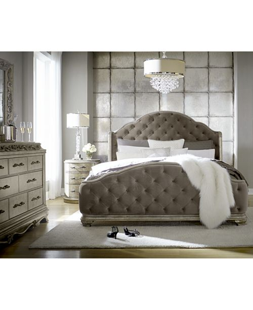 Furniture Zarina Bedroom Furniture, 3-Pc. Set (Queen Bed, Dresser .