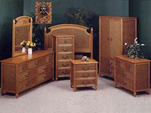 Wicker Bedroom Furniture - YouTu