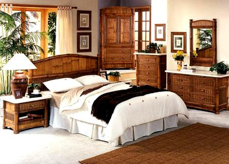 Rattan Specialties Bamboo Bedroom Suite : Wicker and Bamboo .