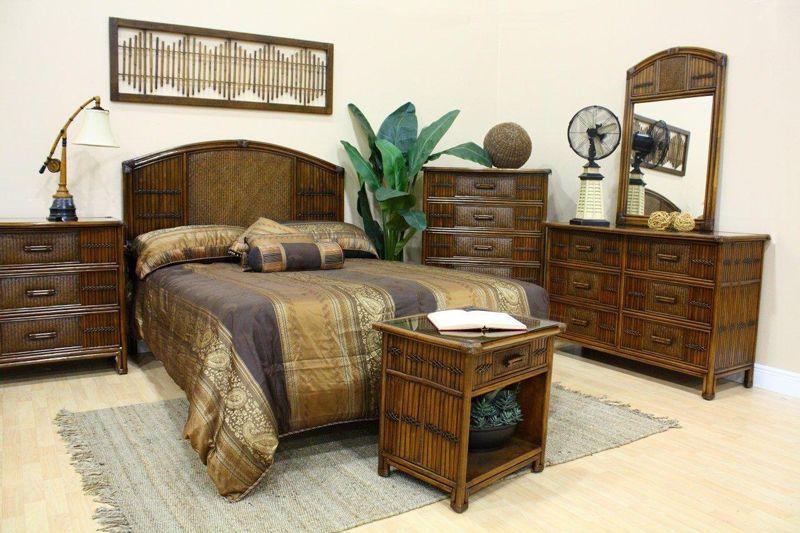 Rattan Bedroom Furniture