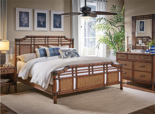 Modern Rattan Bedroom Furniture Set E Bay Honey Santum Cruz Wicker .