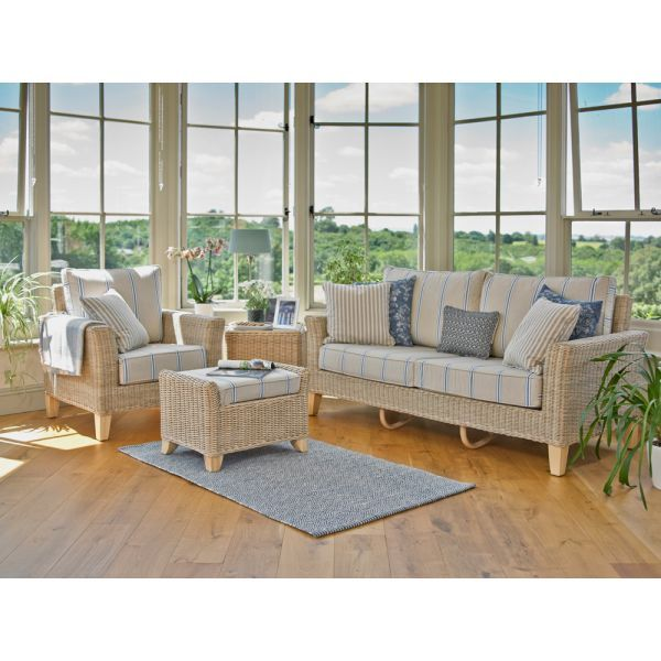 Chelsea (Almond) Three-Seater Sofa and Two Armchairs   Holloways .