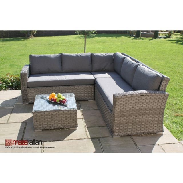 Columbia Rattan garden furniture Small Corner Sofa Set | Furniture .