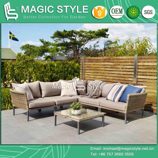China Rattan Corner Sofa Wicker Sofa Combination Sofa Outdoor Sofa .