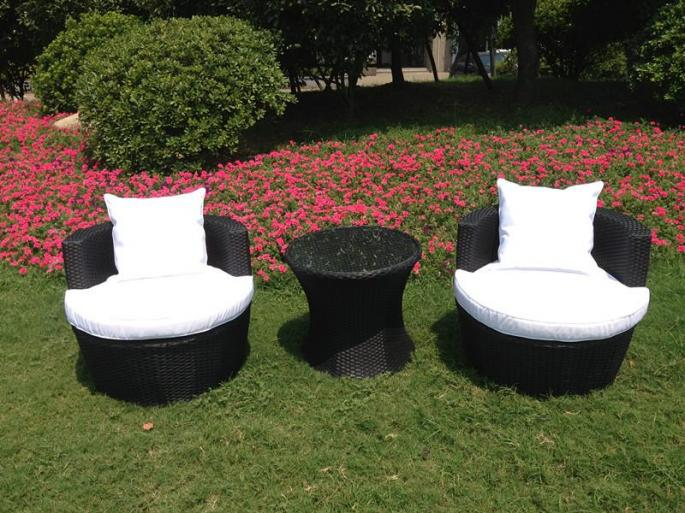 Rattan Effect Egg Patio Furniture Set | Rattan Effect Garden .