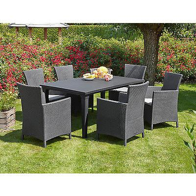 Allibert 'Iowa' Rattan Effect Garden Dining Chair – Freedom Homesto