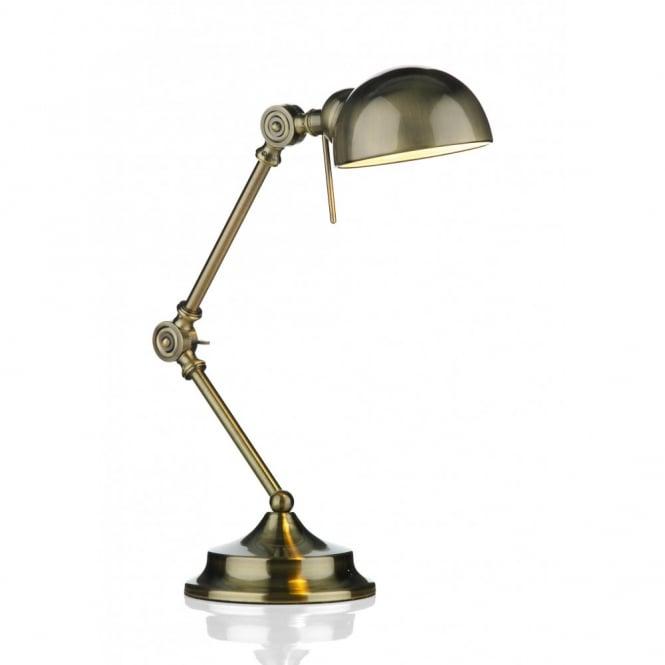 Task Lamp Ranger Antique Brass Adjustable Desk Or Reading, Outlet .