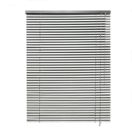 China Indoor Outdoor Manual 25mm Slats Aluminum Venetian Blinds .