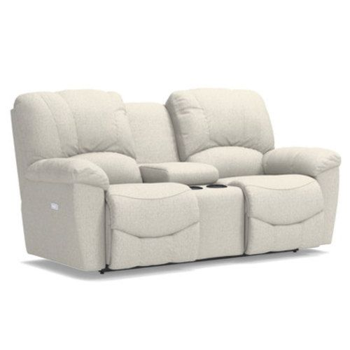 Hayes Power Reclining Loveseat w/ Console | La-Z-B