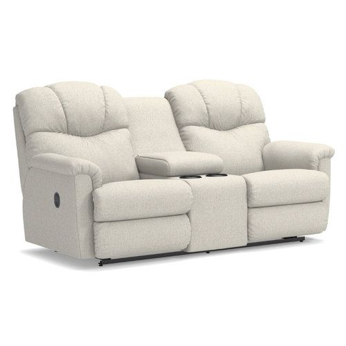 Lancer Power Reclining Loveseat w/ Console | La-Z-B