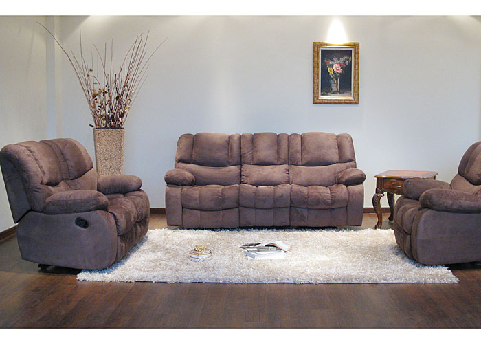 Bob's Discount House Sykon Reclining Sofa, Loveseat & Cha